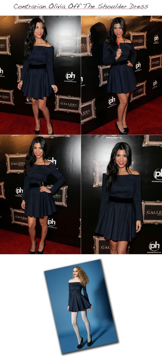 Look Kardashian Vestido Contrarian