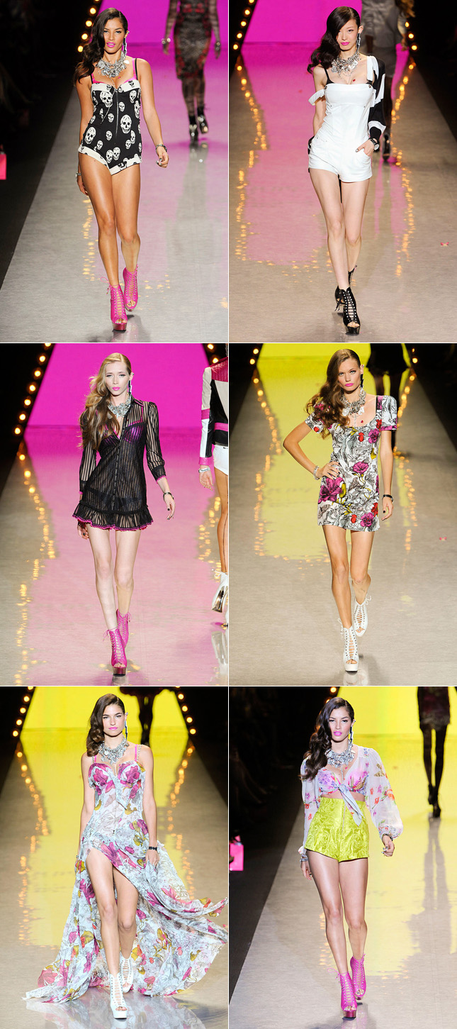 Desfile Betsey Johnson Verão 2012 NYFW - New York Fashion Week
