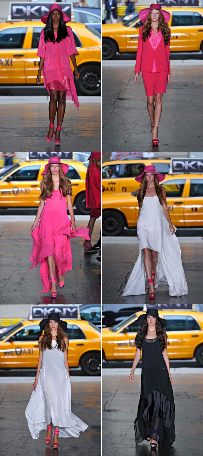 Desfile DKNY Verão 2012 NYFW New York Fashion Week