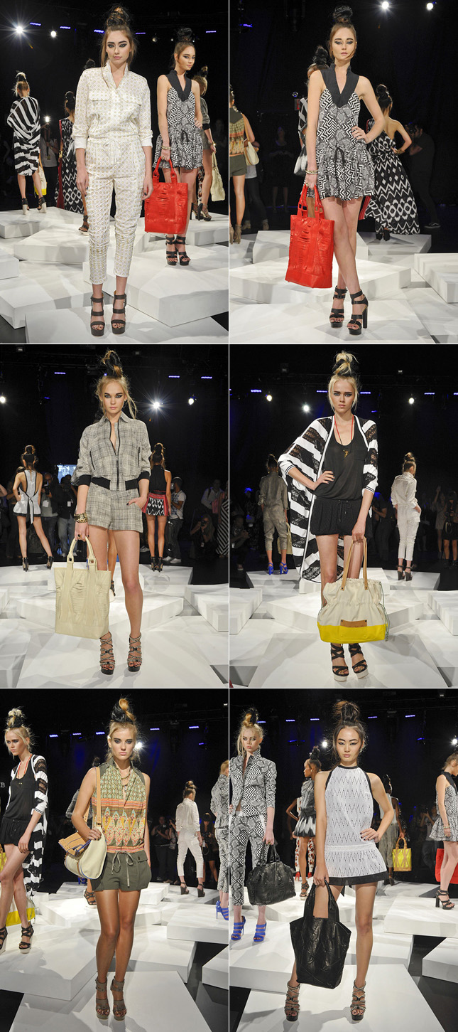Desfile LAMB NYFW Verão 2012 New York Fashion Week