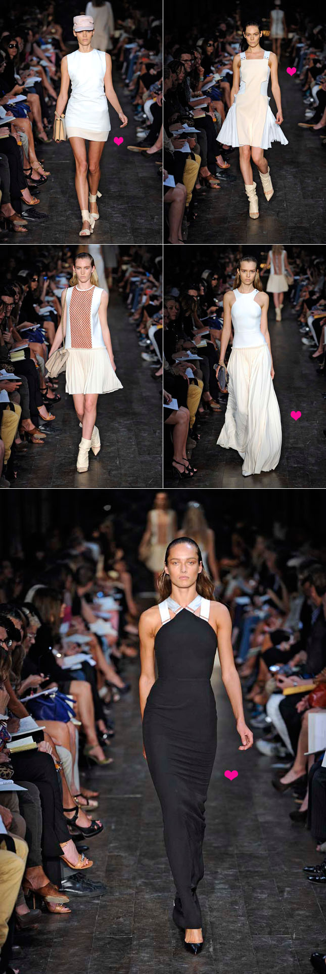 Desfile Victoria Beckham Verão 2012 NYFW - New York Fashion Week