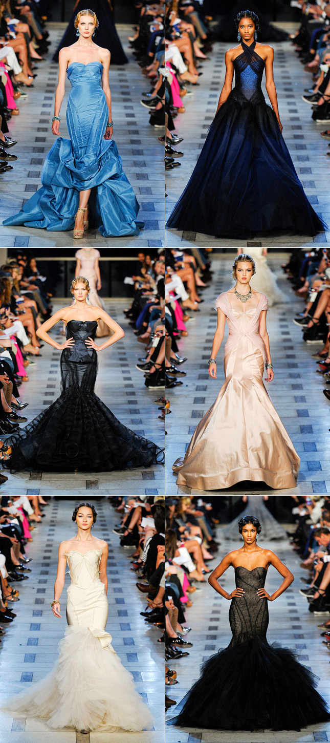 Verão 2012, NYFW, Desfile Zac Posen - New York Fashion Week