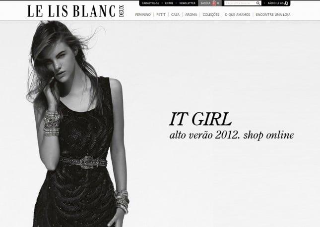 Loja Online Le Lis Blanc