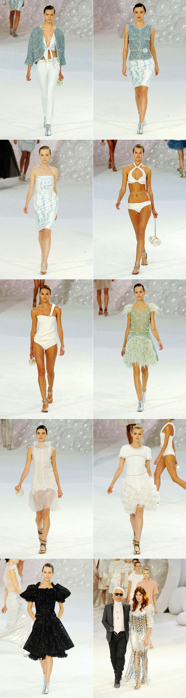 Chanel Verão 2012 Desfile Paris Fashion Week