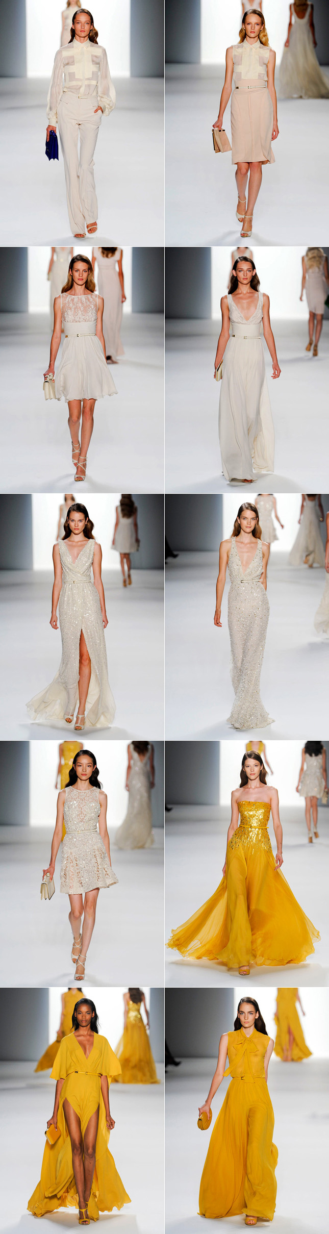 Elie Saab Verão 2012 Desfile Paris Fashion Week