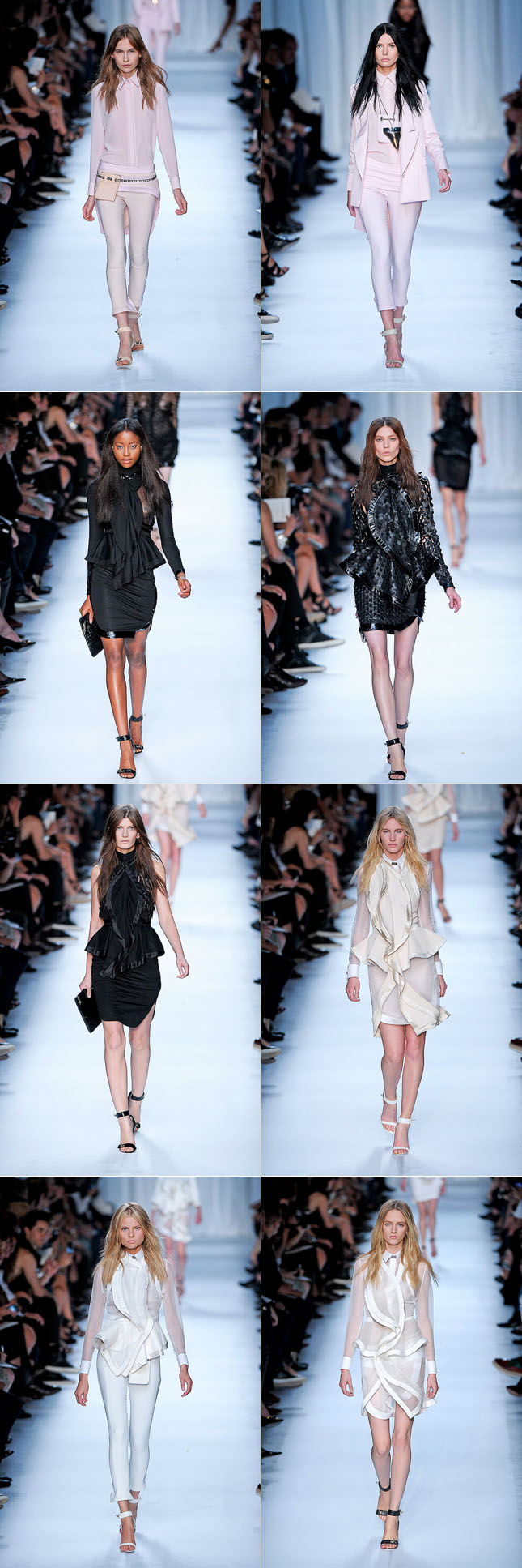 Givenchy Desfile Verão 2012 Paris Fashion Week PFW