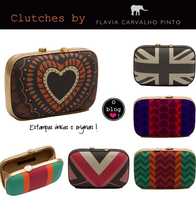 As Clutches da Flavia Carvalho Pinto - Oh My Closet!