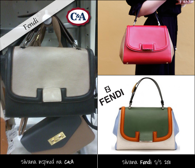 Bolsas Inspireds Na C&A Fendi