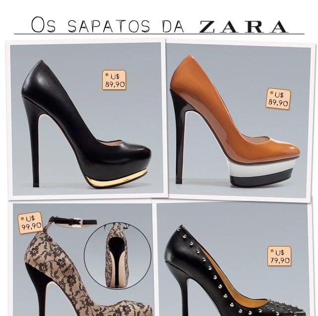 Sapato Zara blog de moda