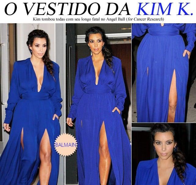look kim kardashian vestido balmain blog de moda