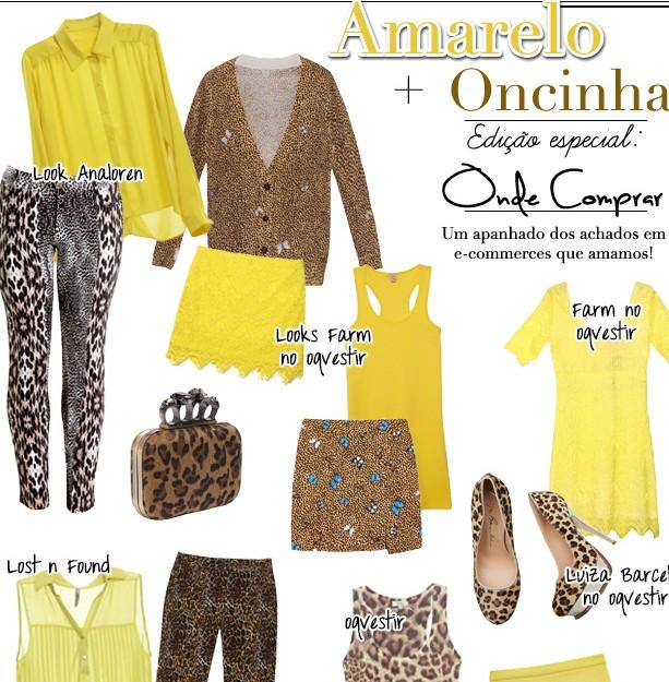 Amarelo oncinha look verao blog de moda onde comprar oqvestir lost n found analoren