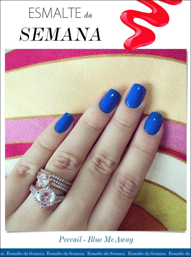 esmalte da semana prevail blue me away blog de moda oh my closet esmalte azul unhas prevail esmalte cvs