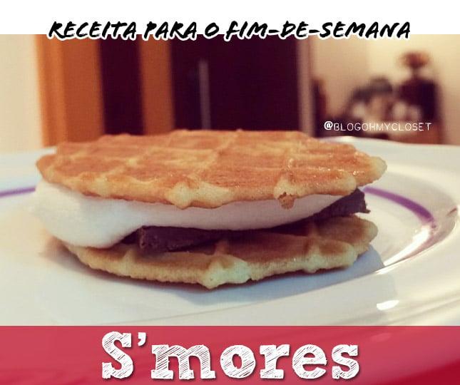 s'mores smores receita graham cracker brasil dica blog de moda oh my closet sobremesa culinaria dica gastronomia