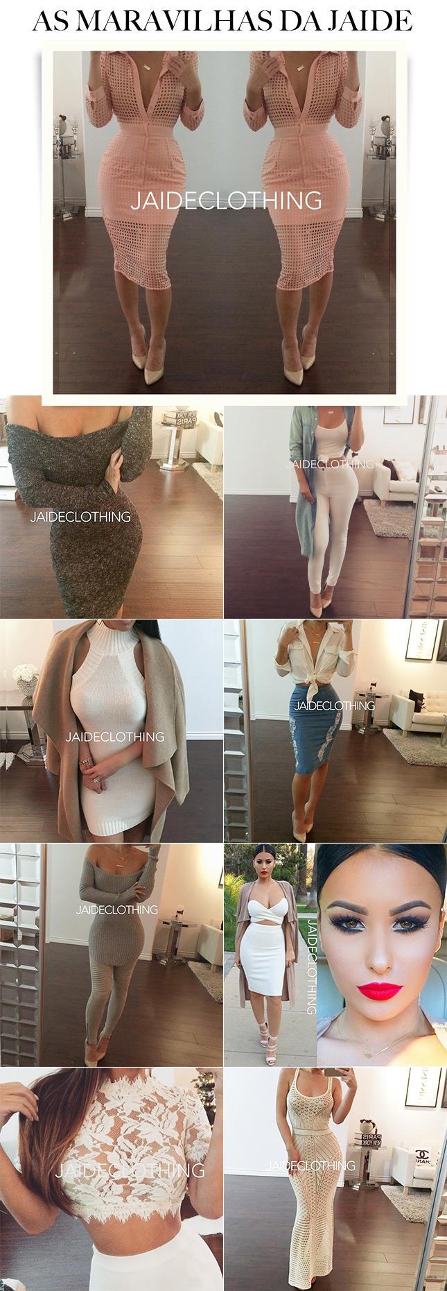 A Jaide Clothing está bombando no Instagram com seus looks poderosos!