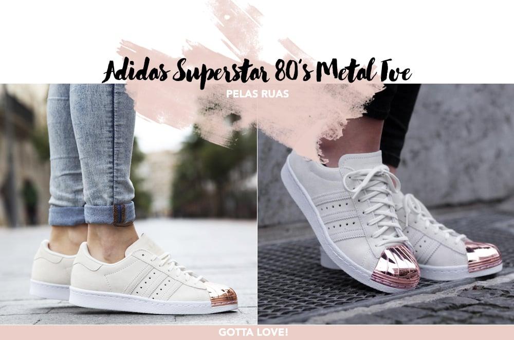 Desejo do dia: Adidas Superstar 80's Metal Toe. E tem rosa! Veja no Oh My Closet!
