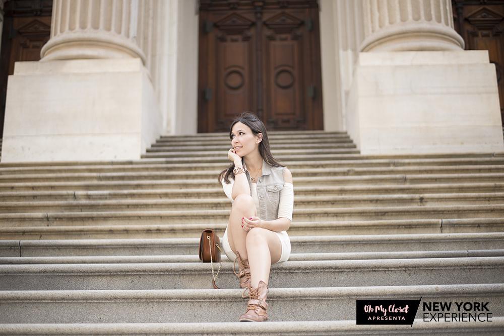 O Distrito Financeiro de NYC também fez parte do roteiro da viagem inesquecível de blogger Mônica Araújo. Veja mais no OMC!