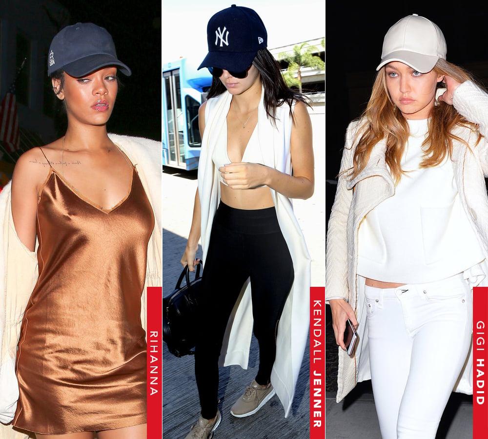 Baseball cap é a trens queridinha das celebridades como Rihanna e Gigi Hadid. Saiba mais no Oh My Closet!