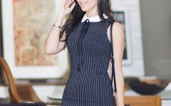Mônica Araújo com vestido S Trend no look do dia.