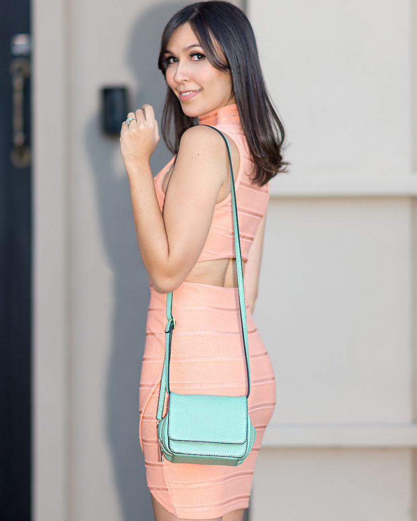 Vestido bandagem verão 2016 S Trend look Mônica Araújo.