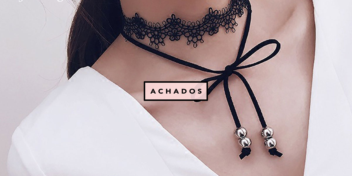 21 Chokers do Ali Express para comprar j! - Oh My Closet!