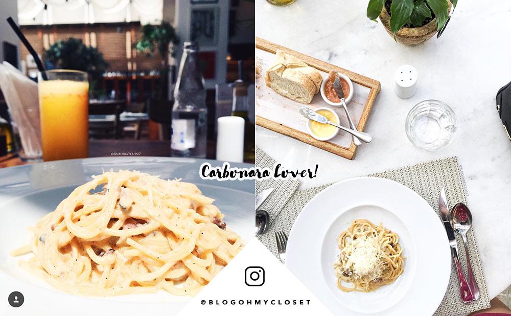 Dica de restaurante: o Maremonti Rio Preto é um dos italianos preferidos da blogger Mônica Araújo, do Oh My Closet. Carbonara e muitos pratos aqui, vem ver!