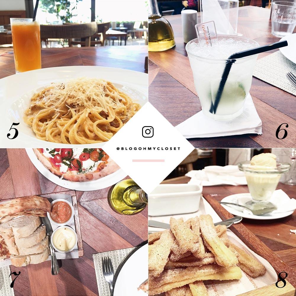 Lifestyle Dica de Restaurante Maremonti Rio Preto. Veja os pratos favoritos da influencer Mônica Araújo no Oh My Closet!