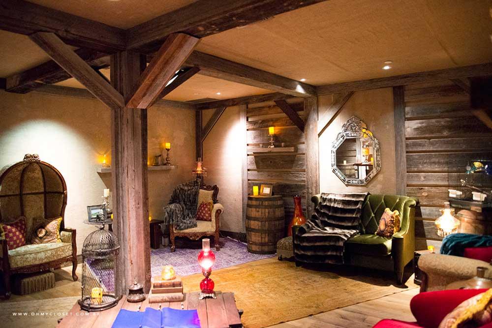 Sala maravilhosa do spa do hotel Parker New York.