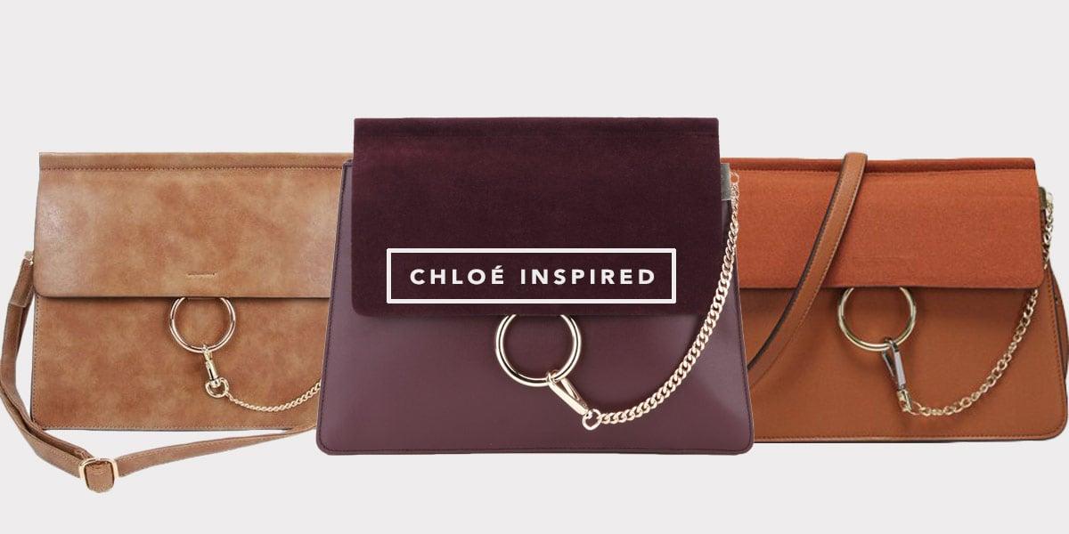 A Chloé Faye bag é uma das mais desejadas do momento e o Oh My Closet te mostra as inspired. Vem ver a tendência no post da blogueira Mônica Araújo!