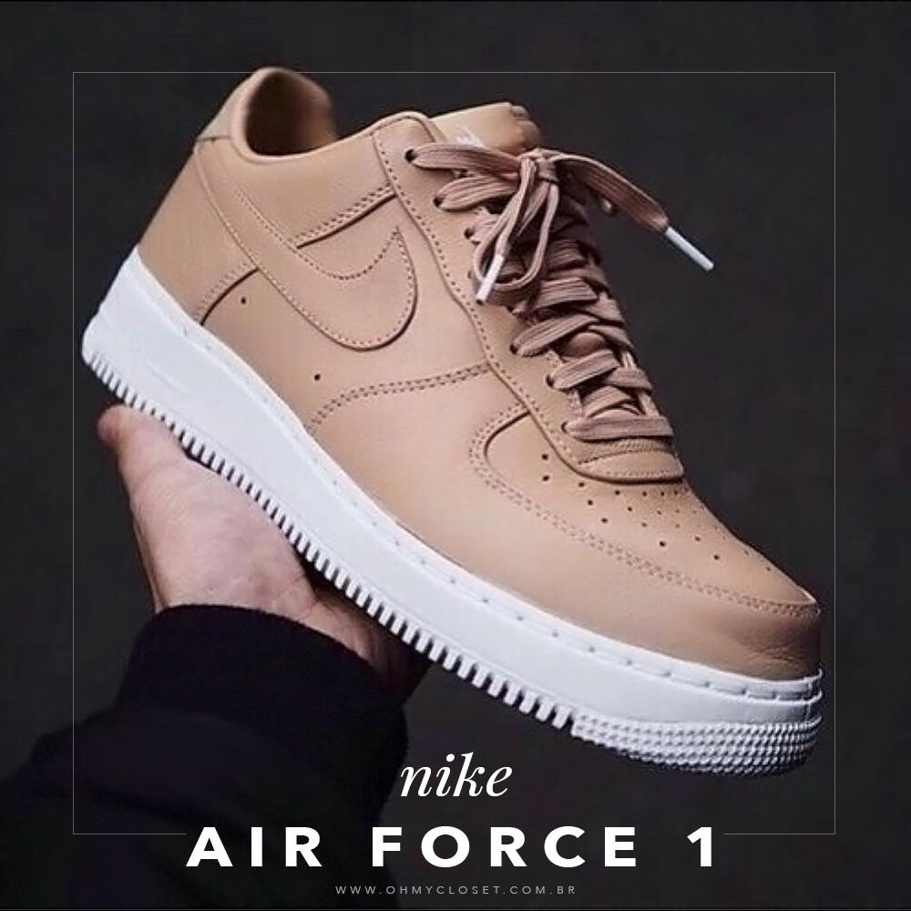 Gosta do Air Force 1 da Nike e que um parecido? Vem pro Oh My Closet descobrir onde comprar!
