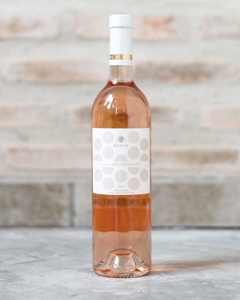 Tem dica de vinho rosê no Oh My Closet. O Berne é um deles, saiba provence preço.