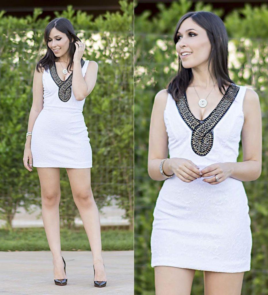Vestido Branco Lindo Ypslon Atacado