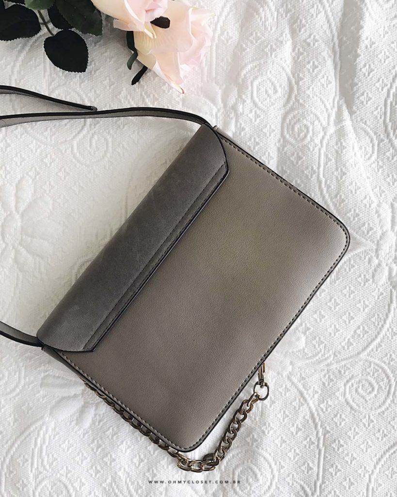 Bolsa inspired da Faye Bag da Chloé. Veja as dicas de como comprar no AliExpress no Oh My Closet!