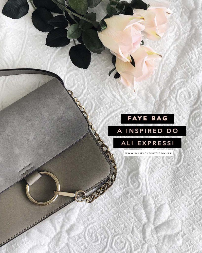 Chloé Faye bag inspired do AliExpress. Onde comprar inspired barato: veja as dicas de compras do Oh My Closet!