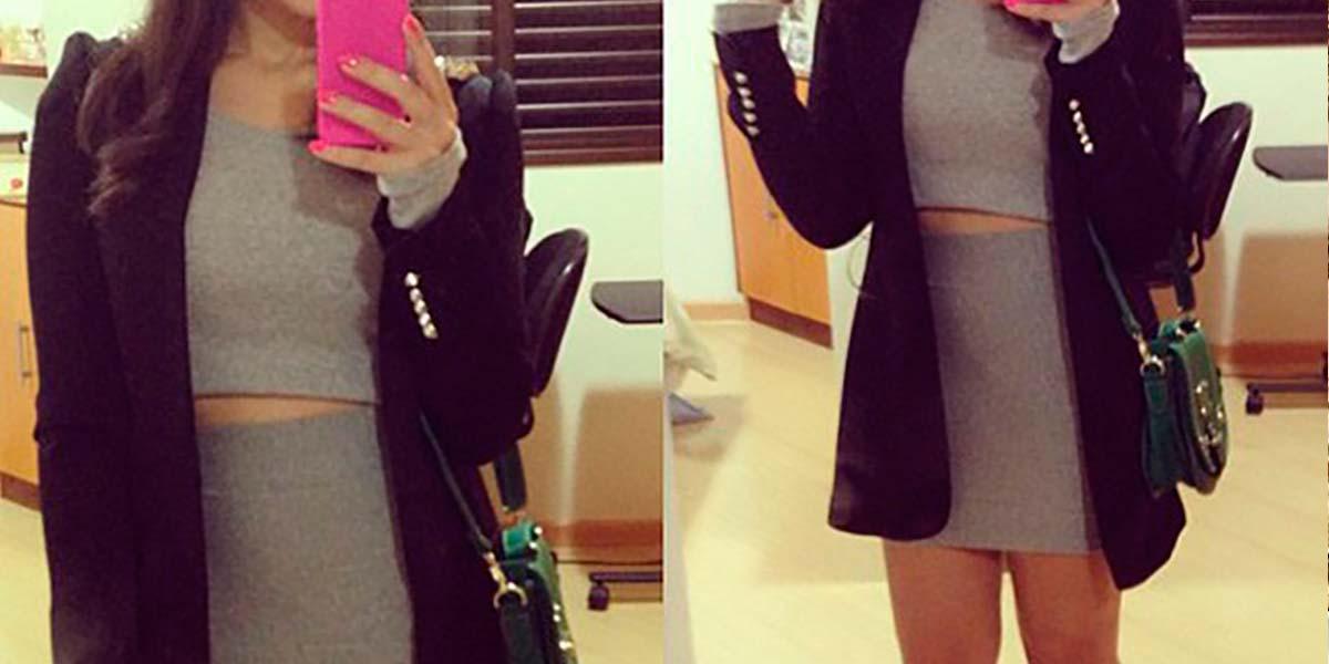 Looks casuais do Instagram da blogueira Mônica Araújo.