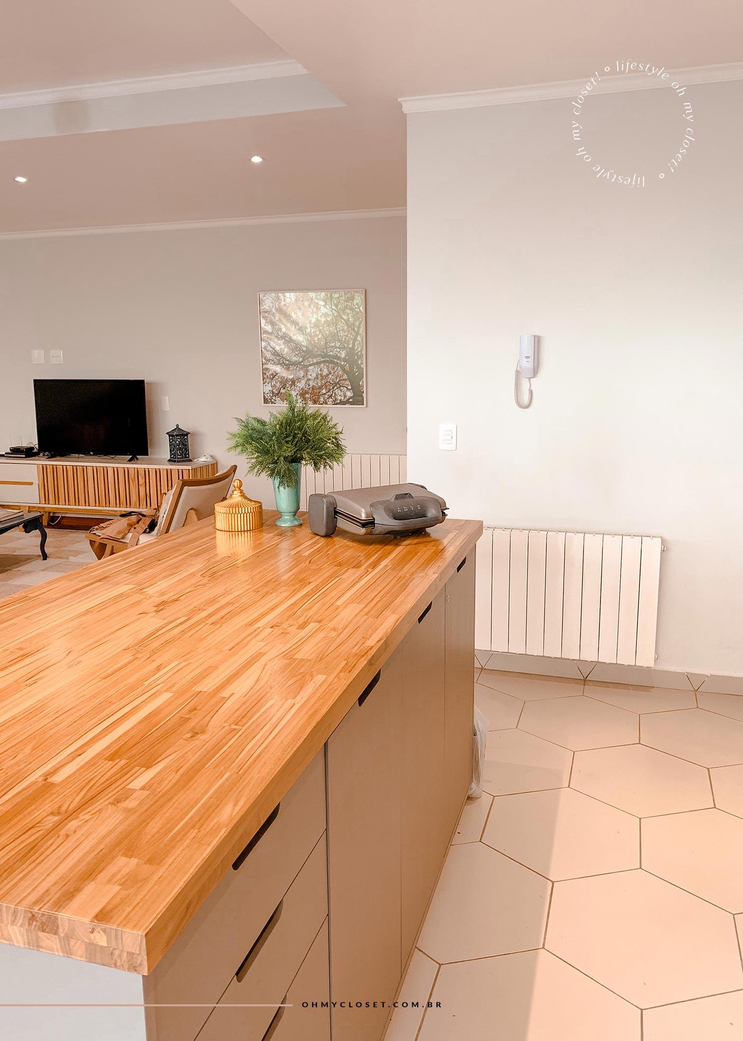 Vista Sala Cozinha