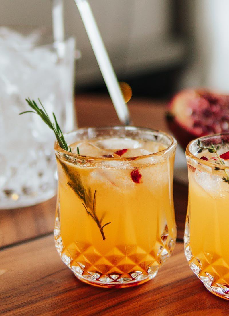 Receita drink cítrico e refrescante para o verão, natal e ano novo.