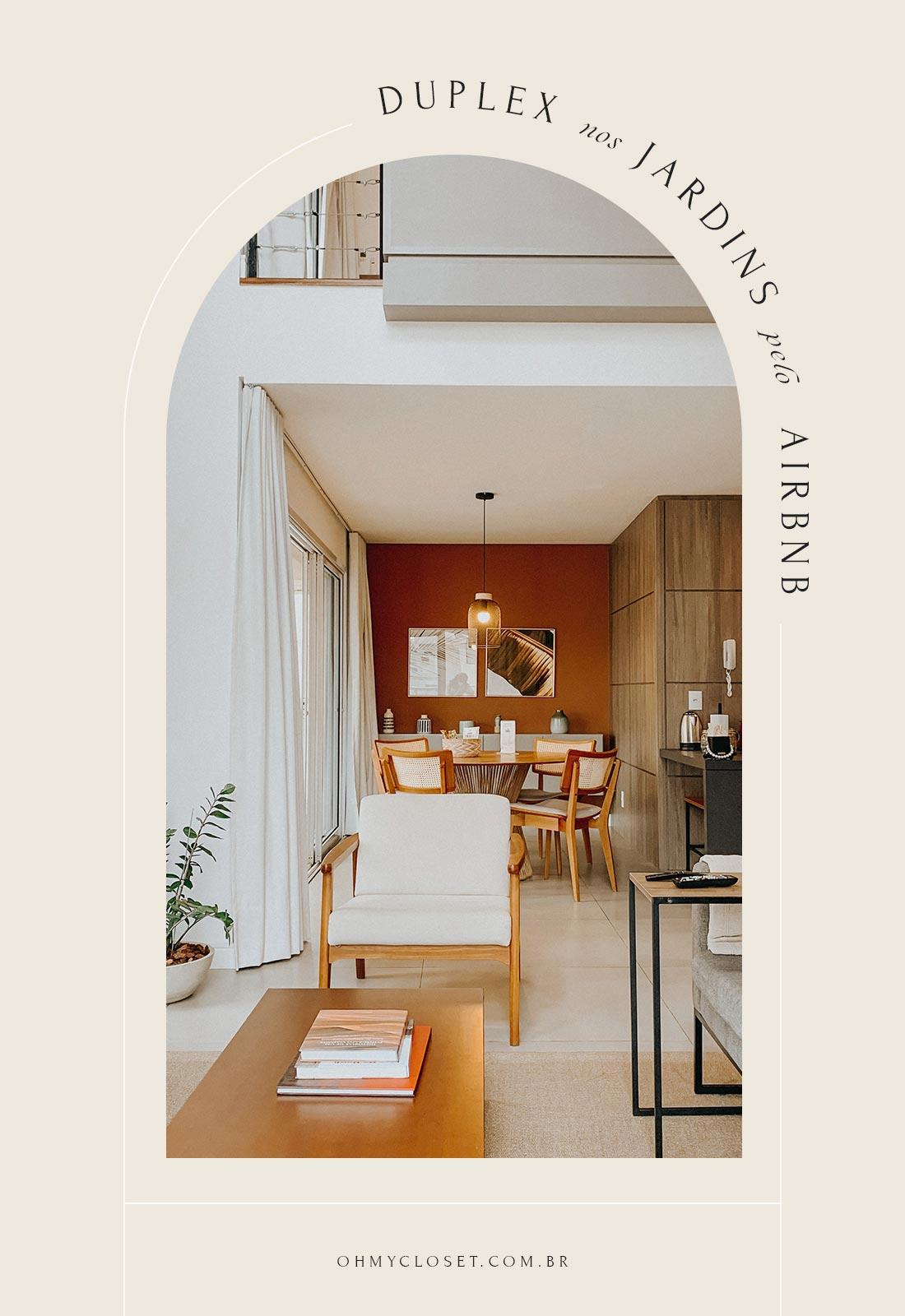 Duplex Apartamento Airbnb em São Paulo nos Jardins