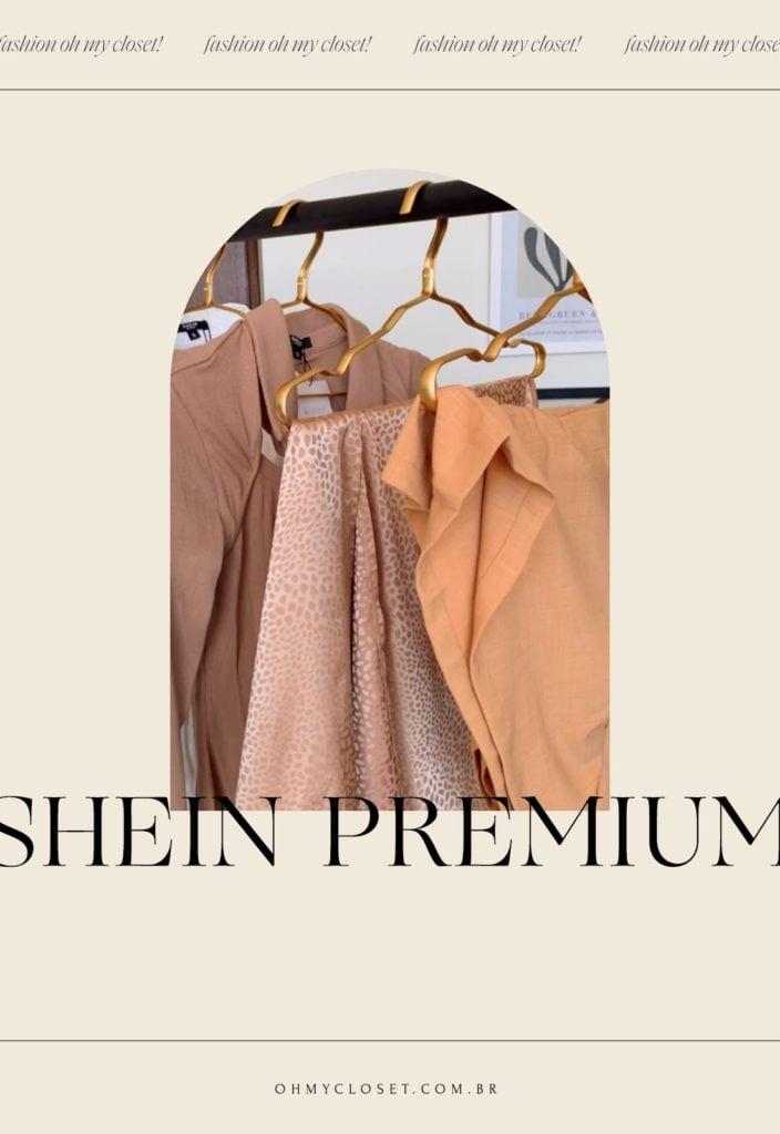 SHEIN premium. Conheça a SHEIN MOTF.