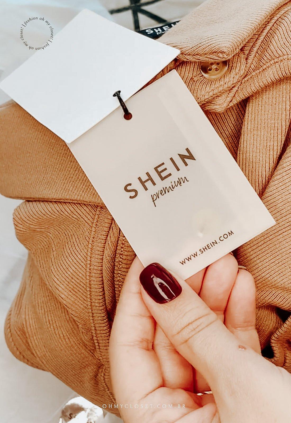 Qualidade e acabamento são os diferenciais da SHEIN premium.