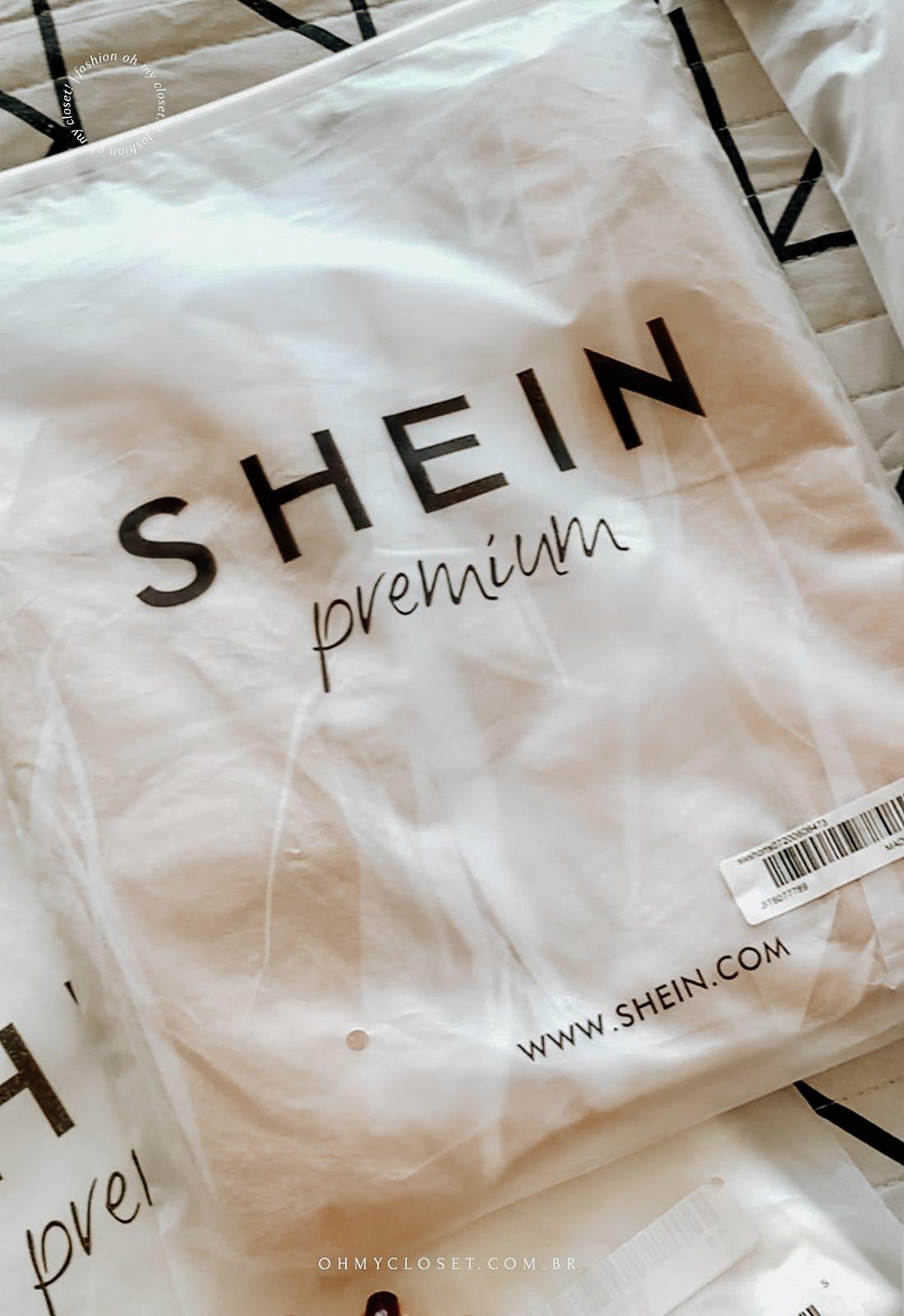 Embalagem da SHEIN premium.