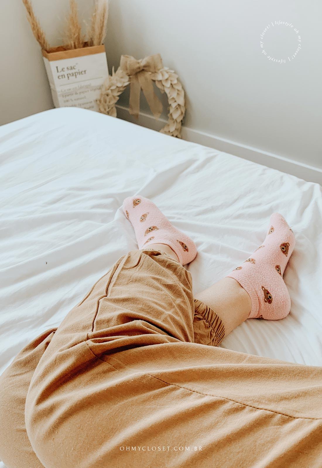 Preguiça na cama. 5 Motivos para fazer staycation.