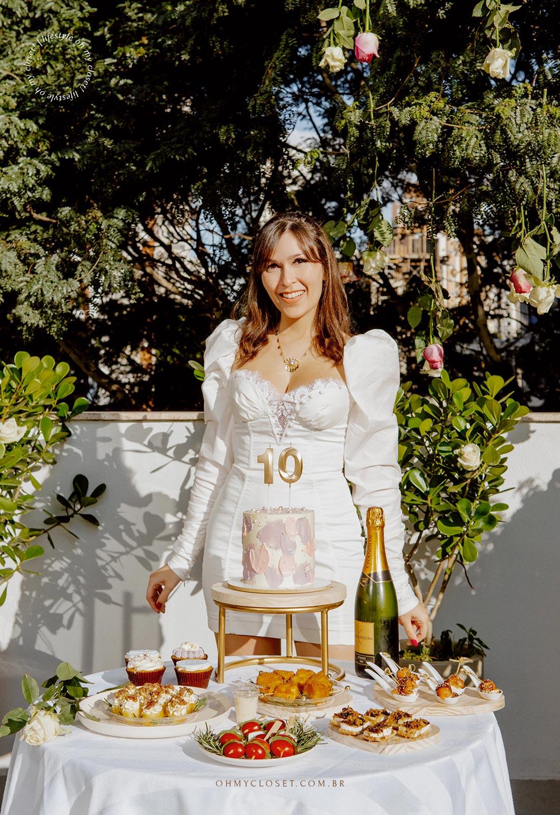 Monica Almeida, responsável pelo Blog Oh My Closet! um dos blogs de moda mais longevos do país.