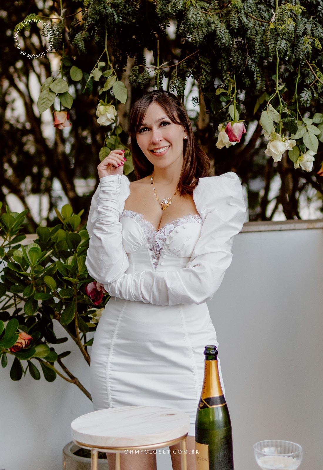 Monica Almeida, na comemoração de 10 anos do blog Oh My Closet!