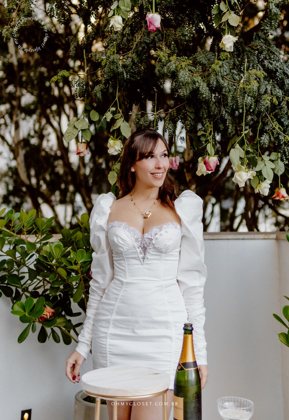 Monica Almeida, blogueira responsável pelo Blog Oh My Closet!