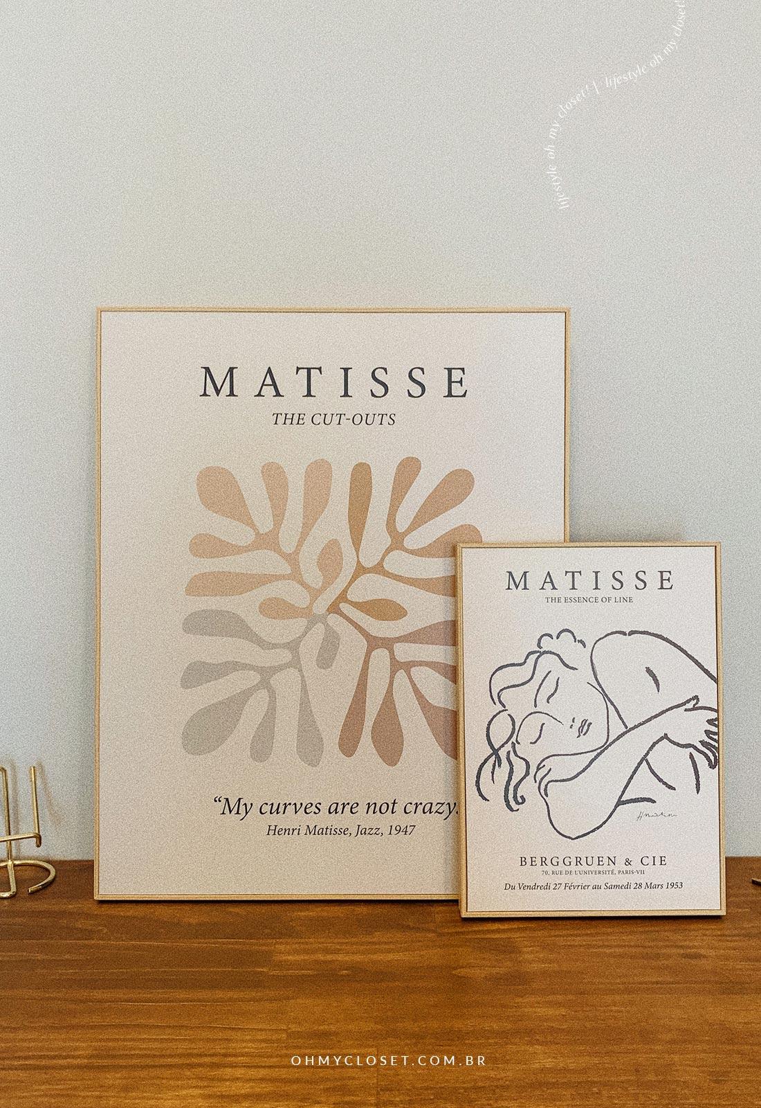 Mais obras de Henri Matisse.