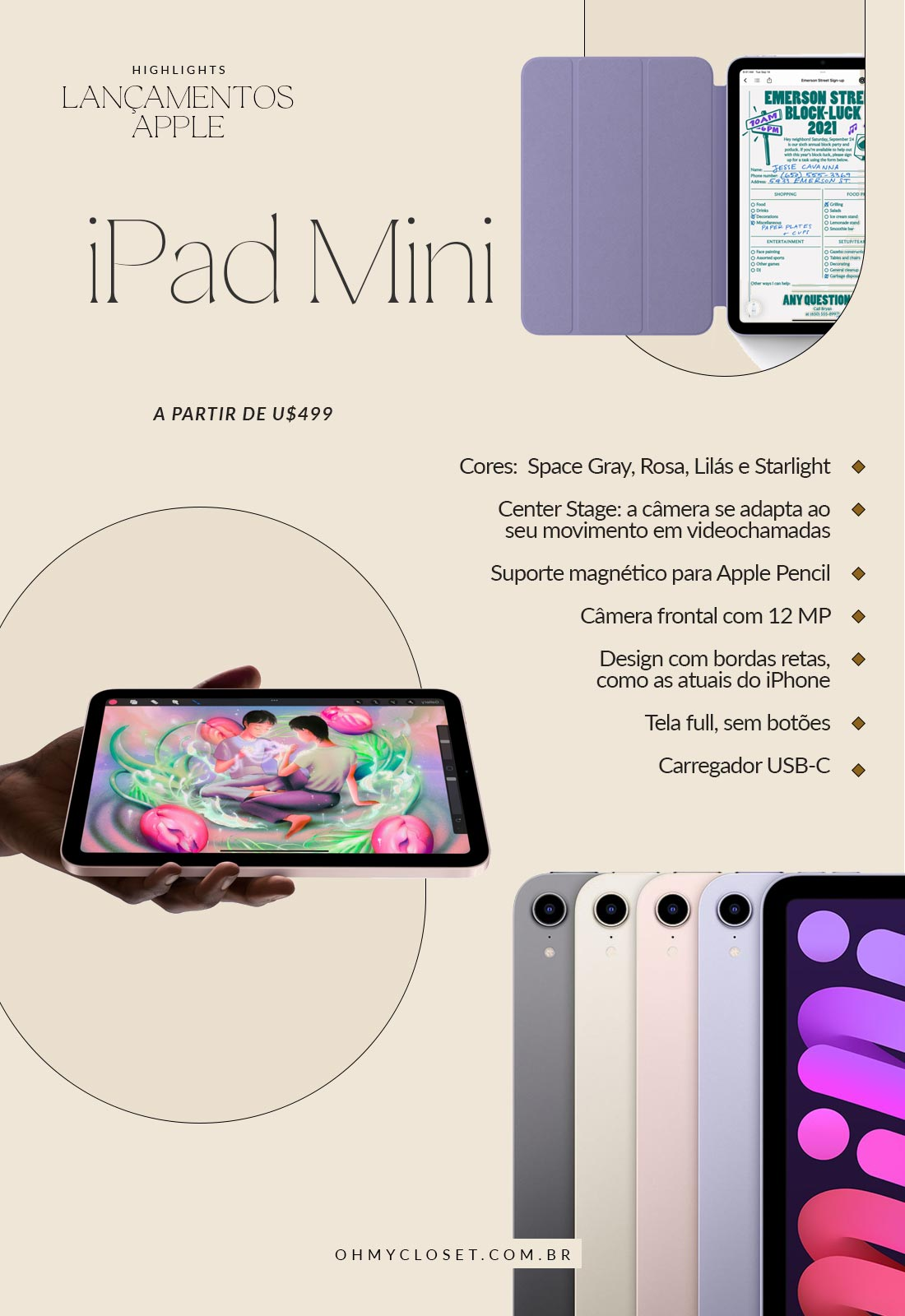 Review Lançamento Apple iPad Mini 6 2021