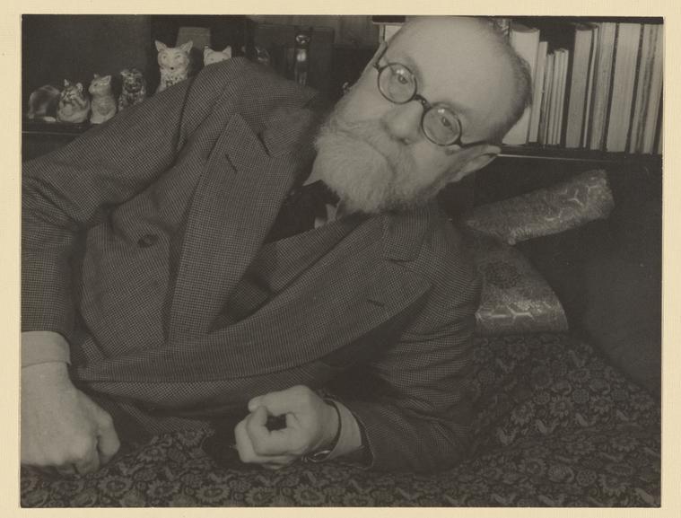 Retrado de Henri Matisse em 1933.