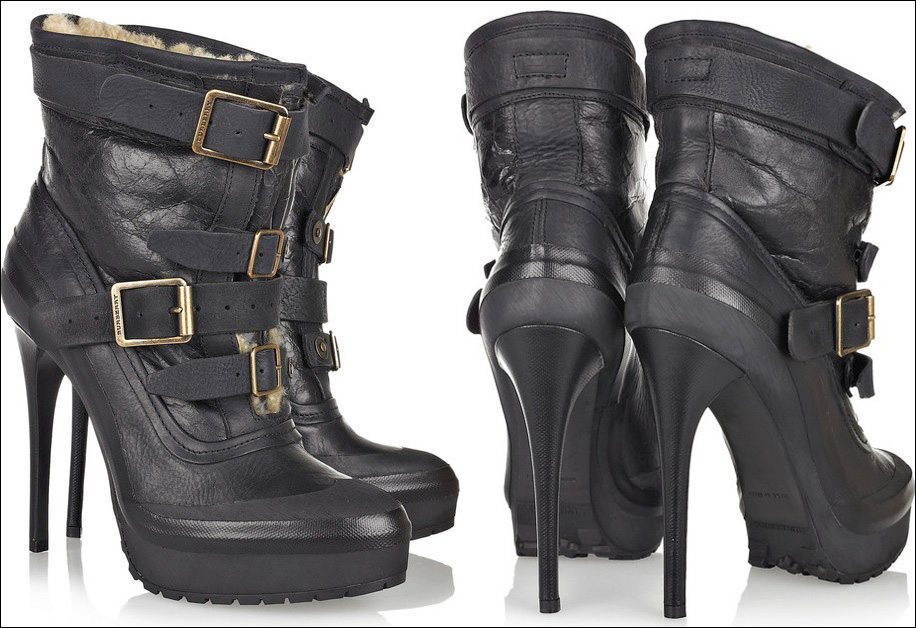 Bota Burberry Ankle Boot