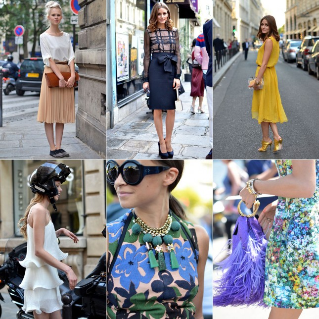Looks Semana de moda de Paris